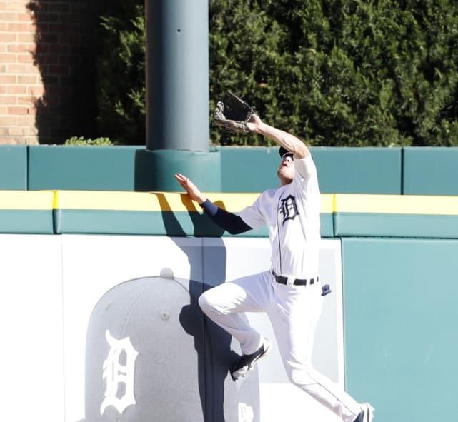 Mike Fiers Espn: WATCH: Tigers' JaCoby Jones Robs Adrian Beltre Of A Homer