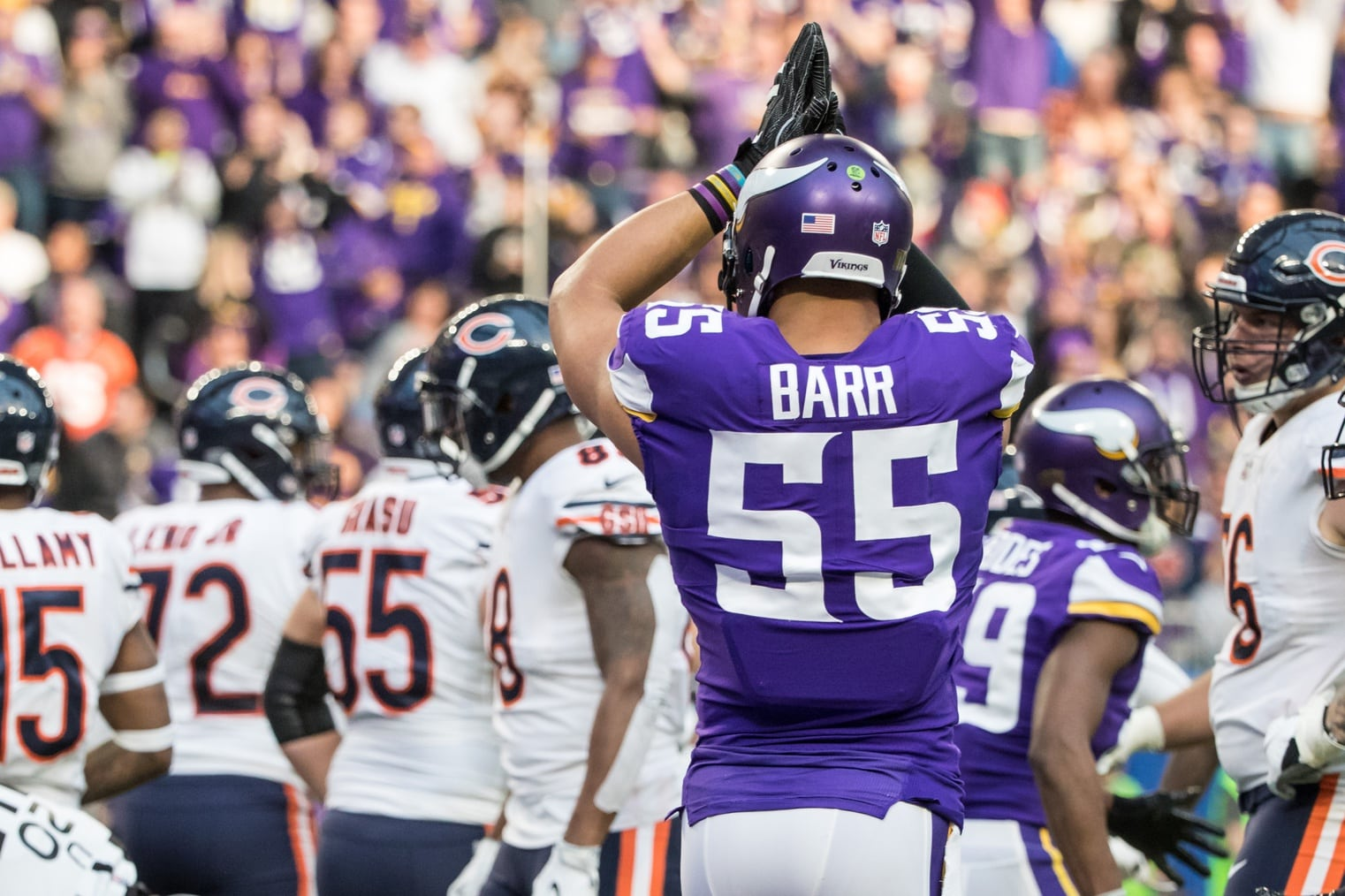 Anthony Barr pulls about-face on Jets, will return to Vikings