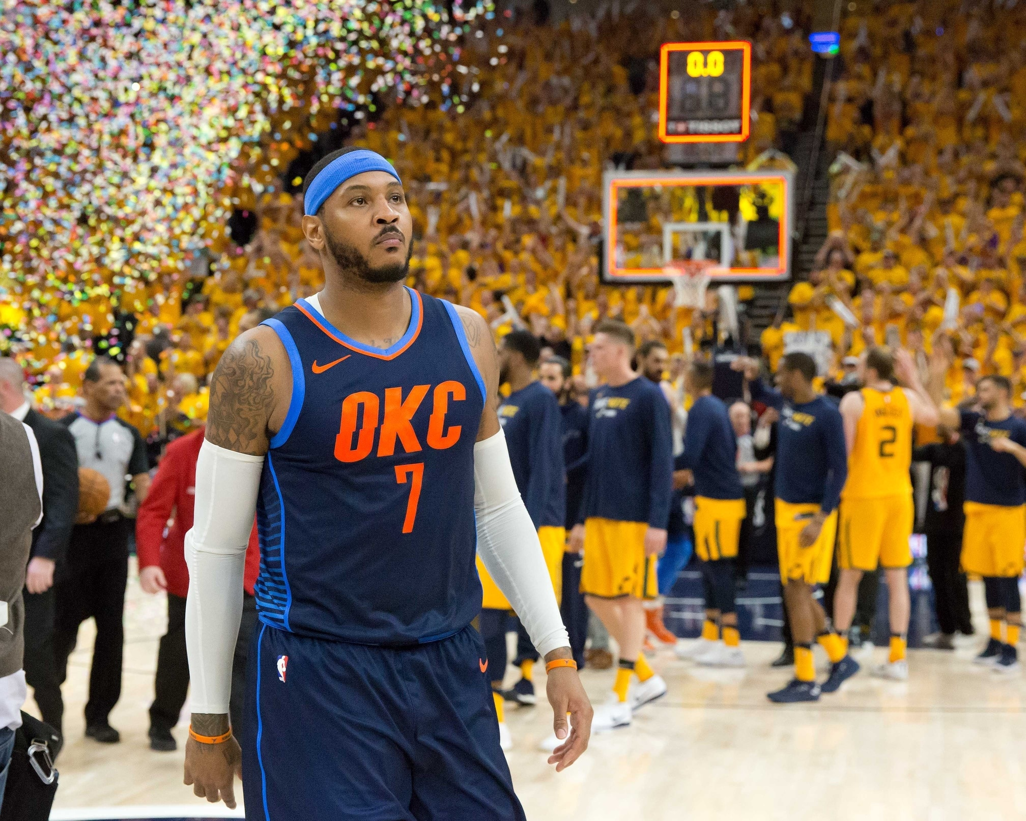 ab3579a12df6 Report  Rockets favorites to sign Carmelo Anthony