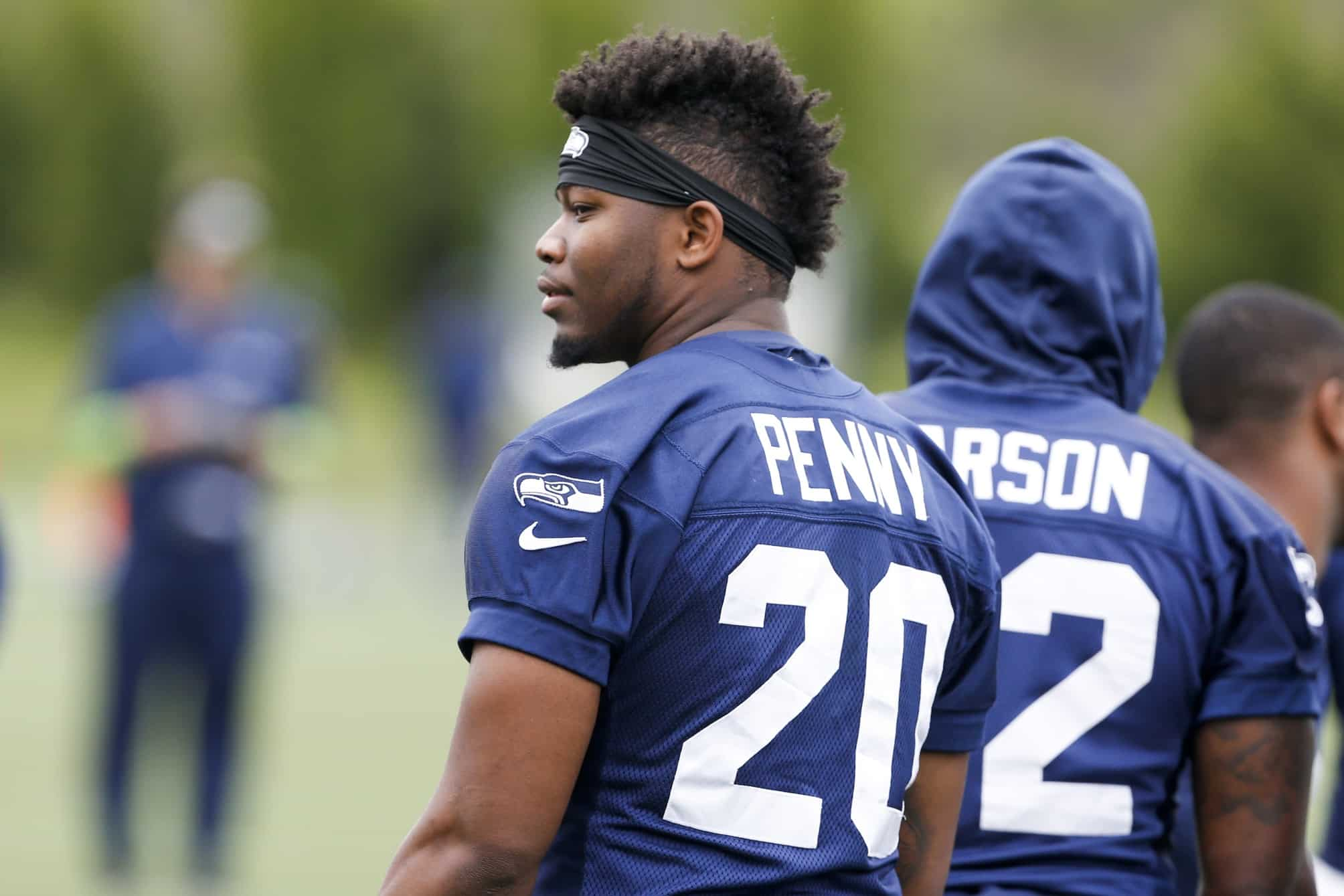 new product 2082f a1fba Report: Lions tried to trade for Seahawks RB Rashaad Penny