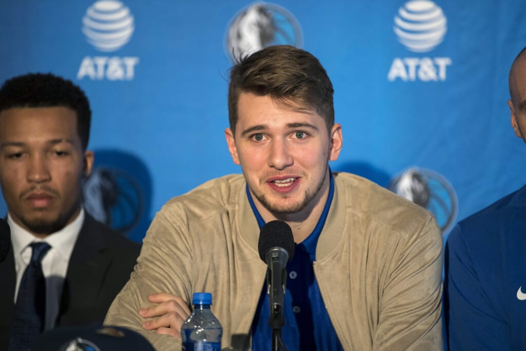 Mavericks rookie Luka Doncic