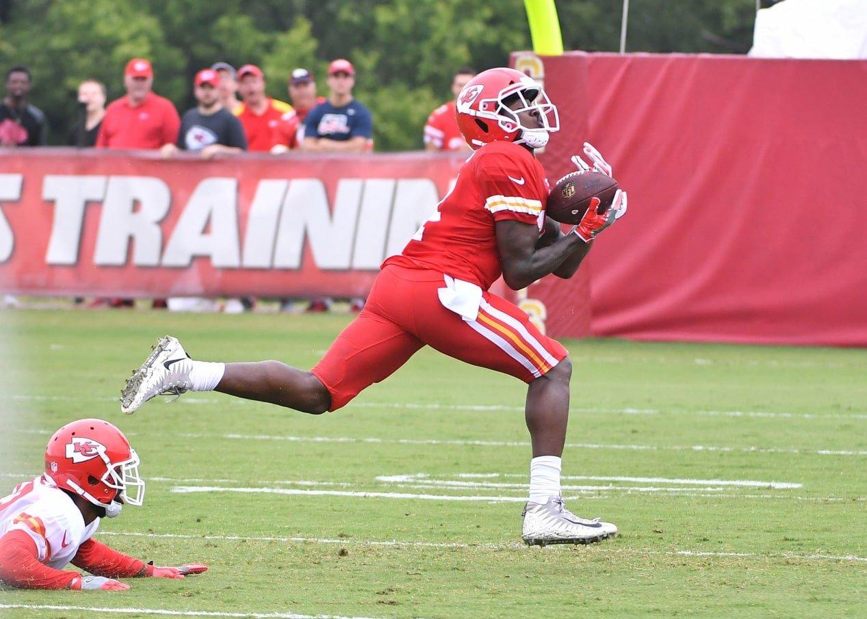 Chiefs receiver Sammy Watkins