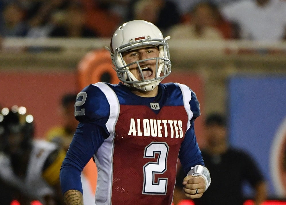 CFL terminates Johnny Manziel's contract, bans him from league