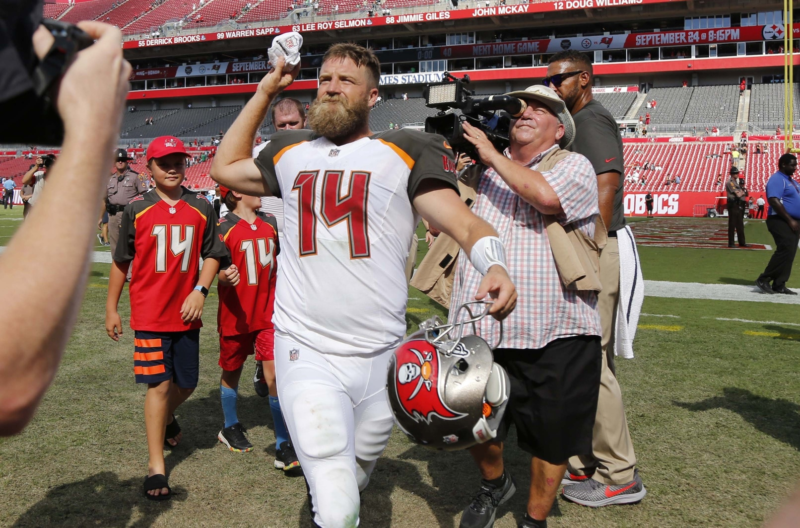 LOOK  Buccaneers fans donning Fitzpatrick beards on MNF cebdca60b