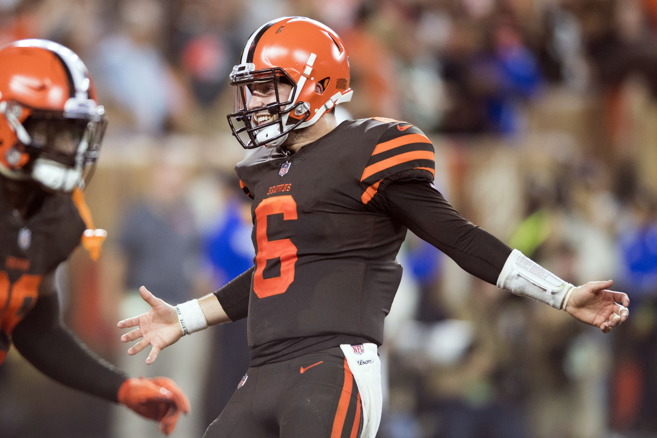 sports shoes 5a9ad e4a6e Baker Mayfield takes vicious shot at Texas and former rival ...