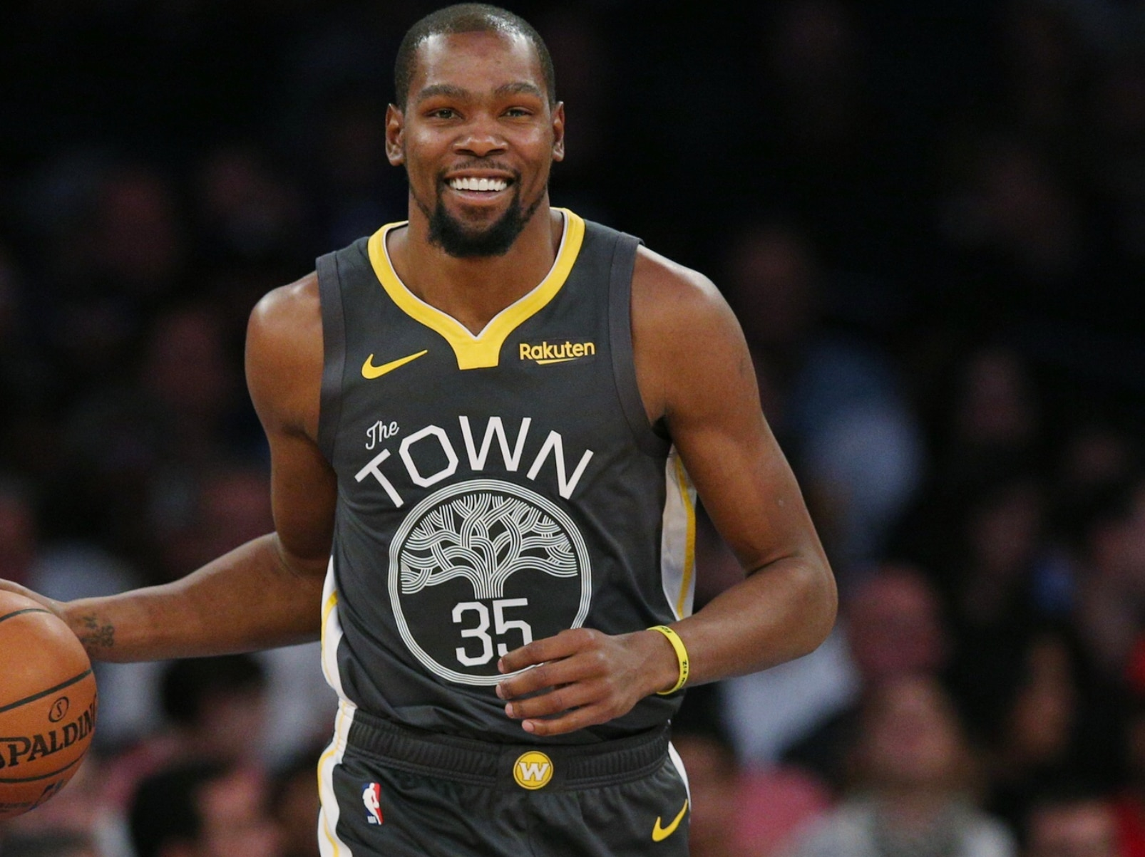 cheap for discount cc6d4 bafe1 Knicks fans rejoice after Kevin Durant follows Allonzo Trier ...
