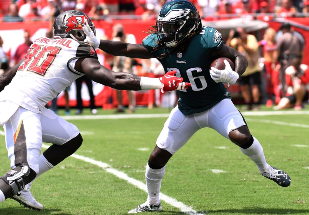 Eagles RB Jay Ajayi took out insurance policy before ACL ...
