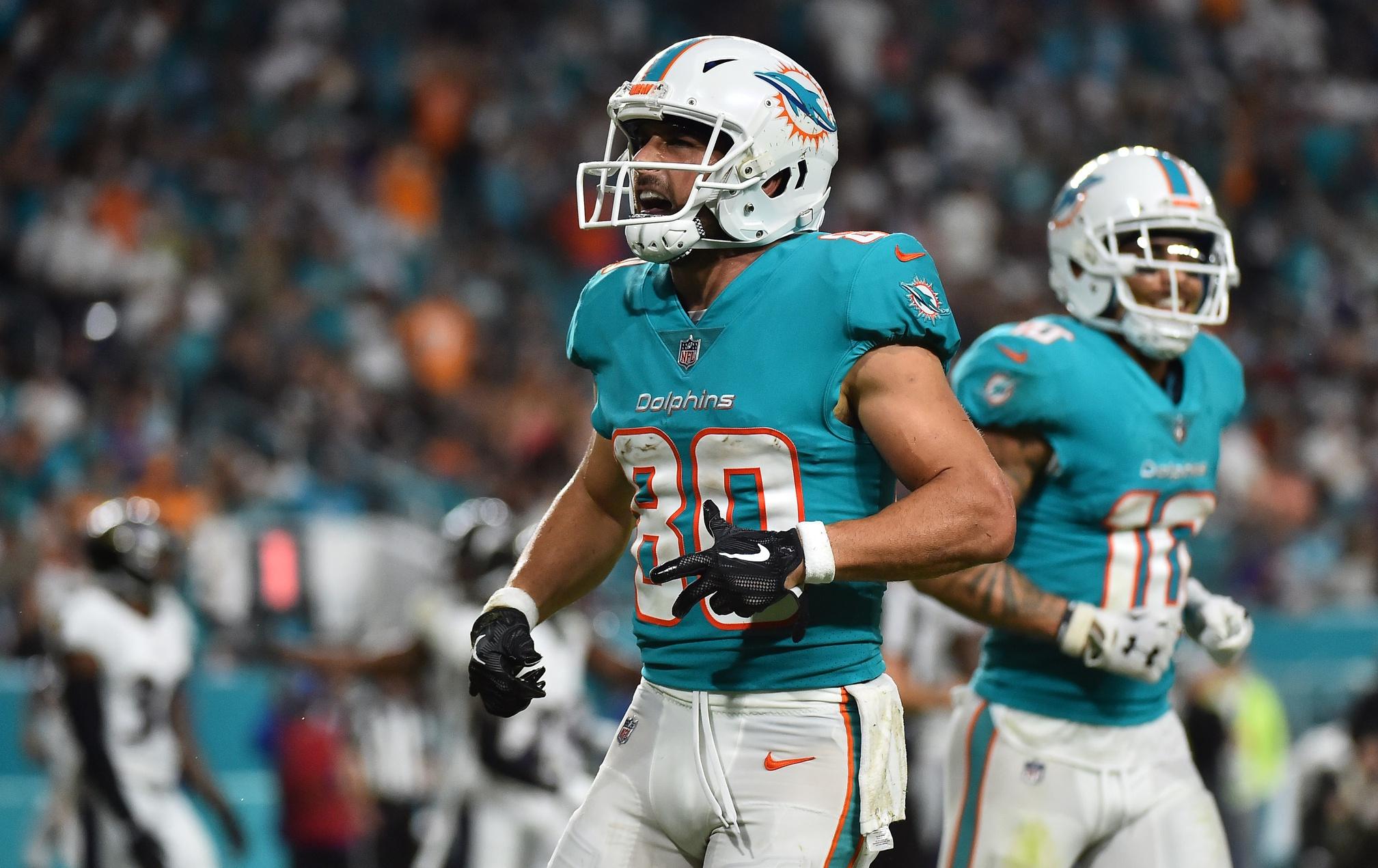 Miami Dolphins Release Veteran WR Danny Amendola