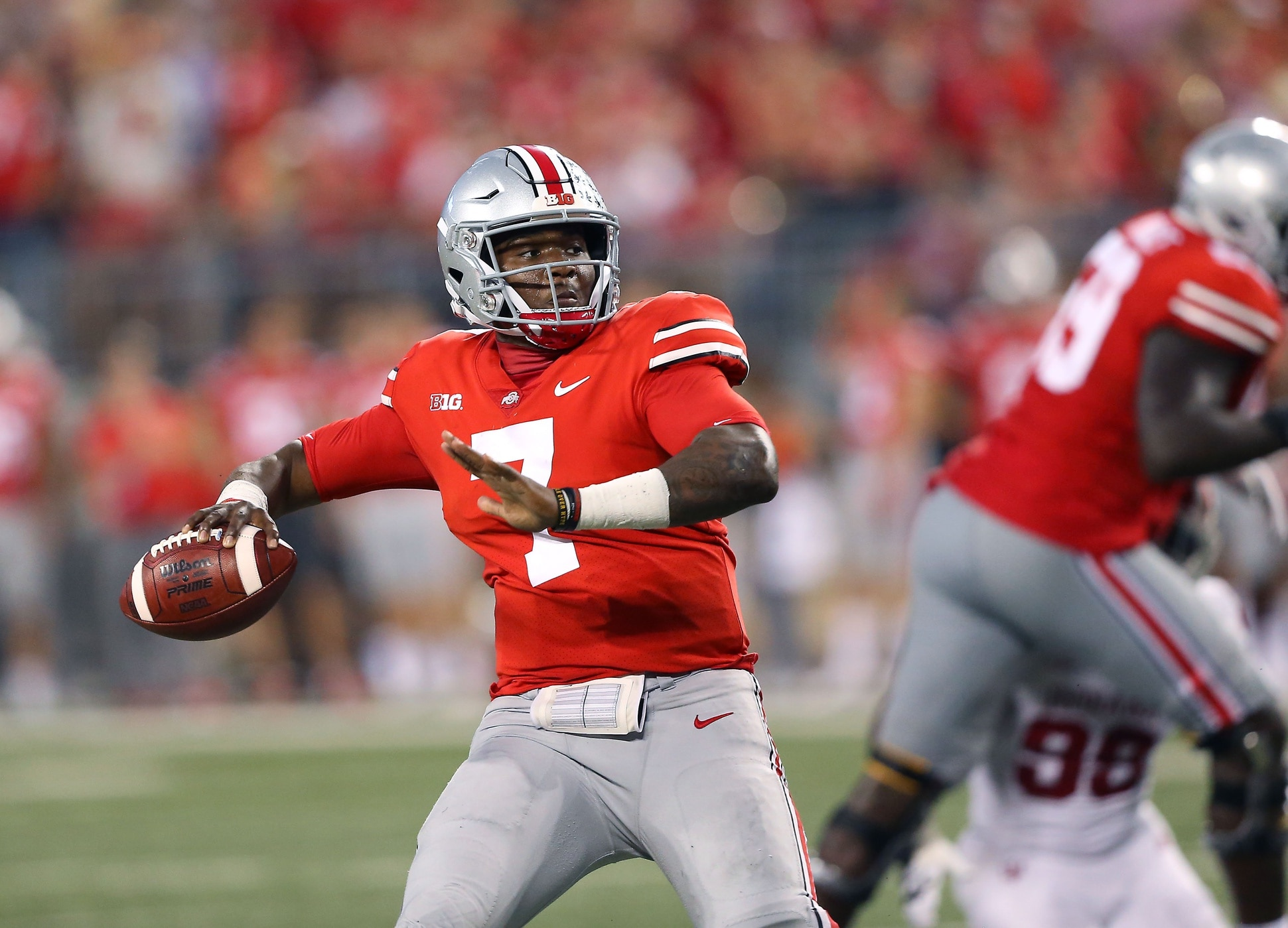 Raiders reportedly could take first-round QB, 'very high' on Dwayne Haskins