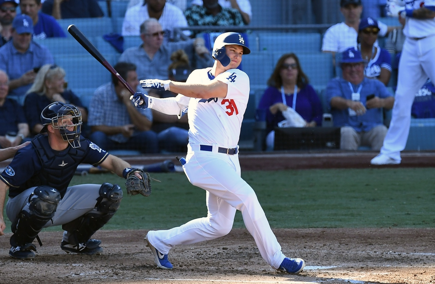 Dodgers' Joc Pederson blasts two home runs on his birthday