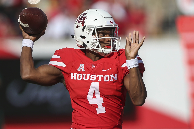 Houston QB D'Eriq King plans to transfer