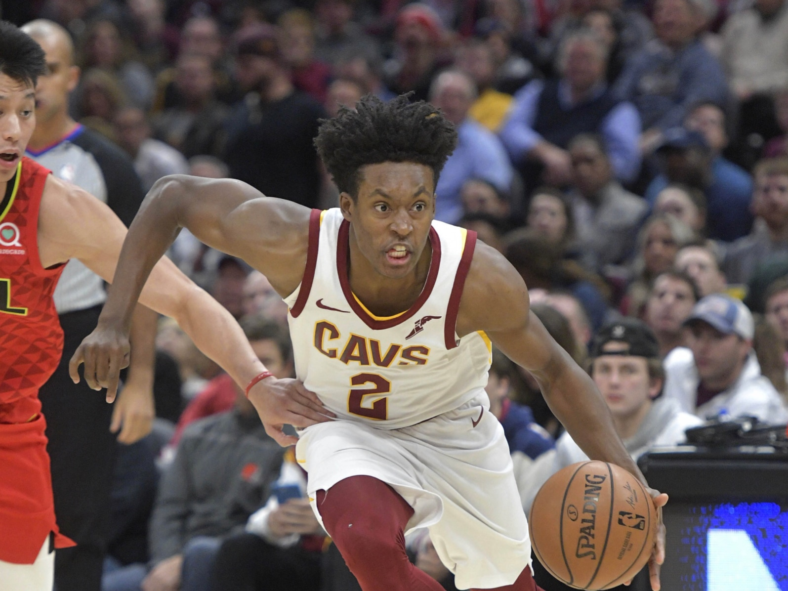 wholesale dealer fced2 1f8ea Cavs veterans don't think Collin Sexton 'knows how to play'