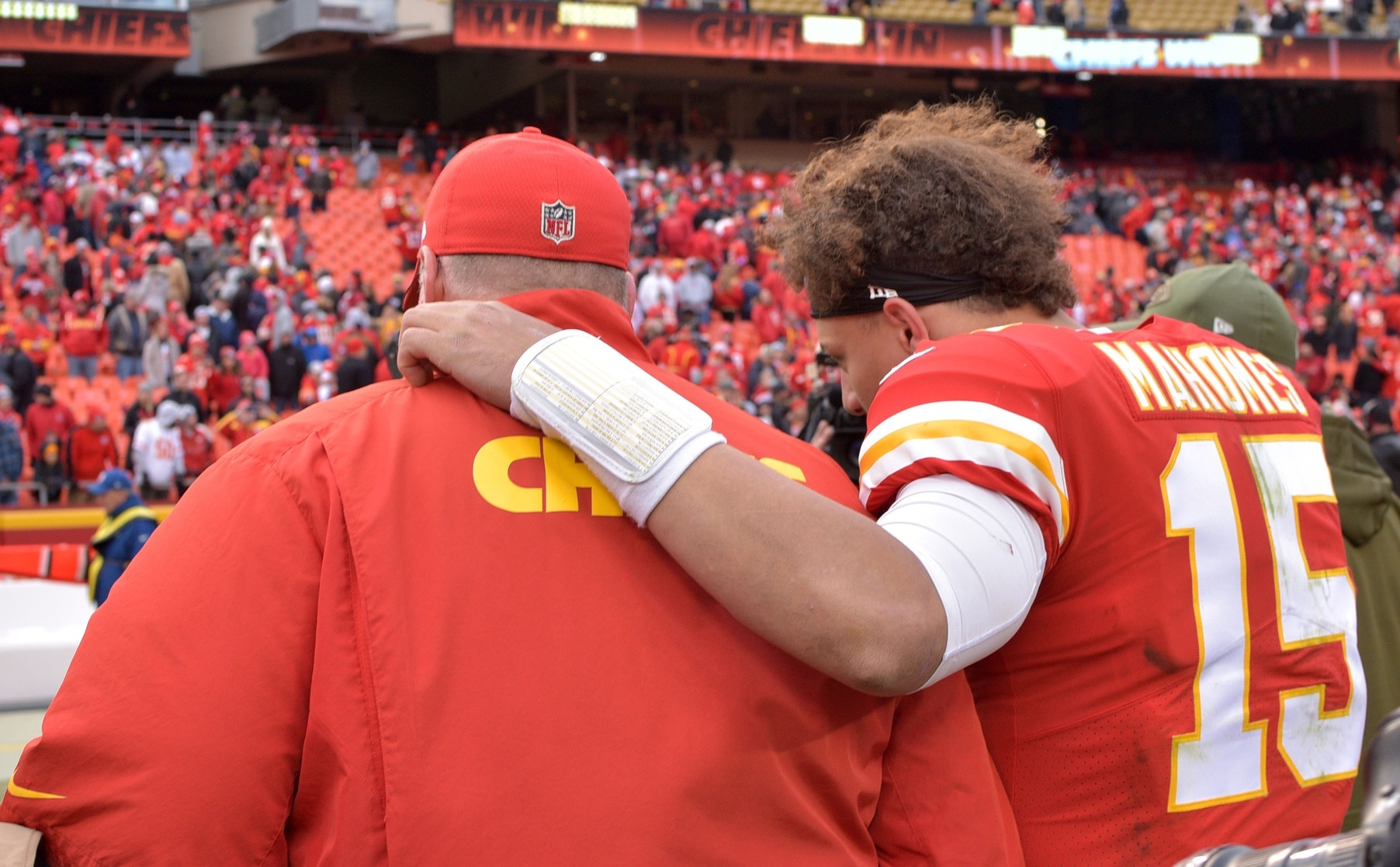 Stepfather Of Patrick Mahomes Girlfriend Passed Away While