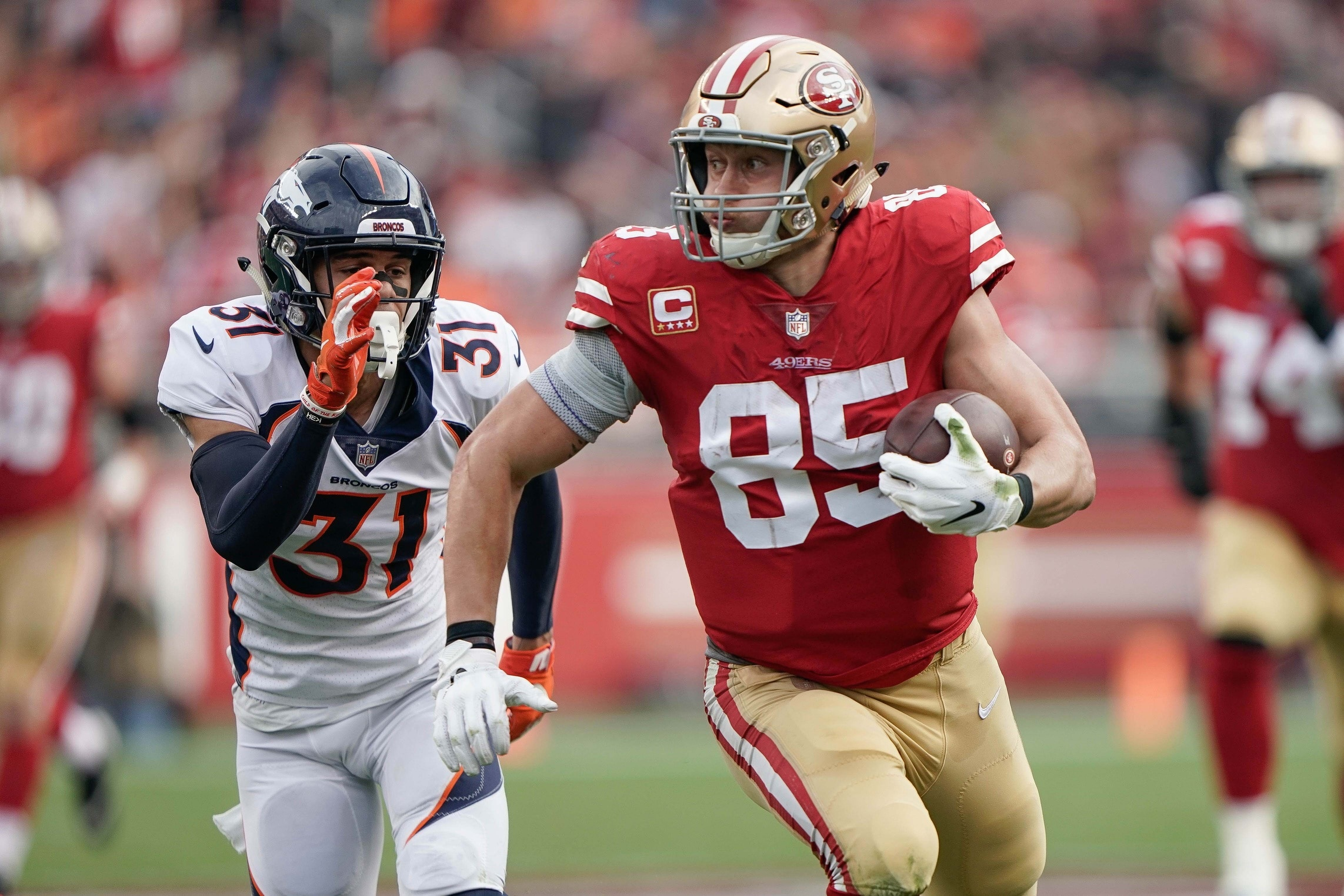 George Kittle With Awesome Quote That Explains So Much About