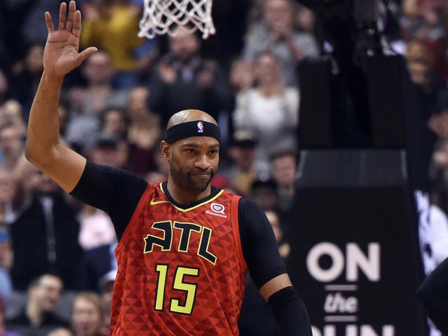 7c4c67aa3ce WATCH  Nets pay tribute to future Hall of Famer Vince Carter
