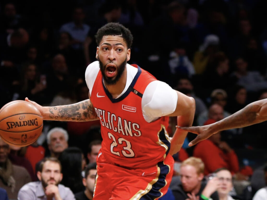 Single-game NBA scoring records: New Orleans Pelicans, Anthony Davis