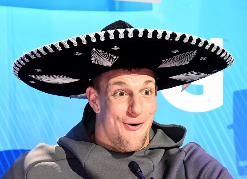 Rob Gronkowski among those to compete in virtual beer pong tournament