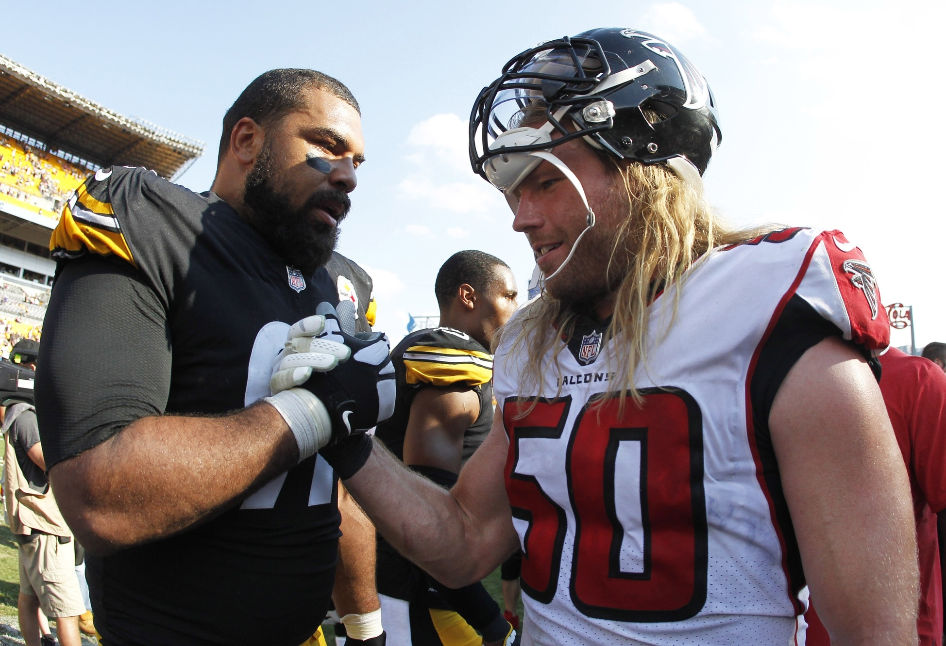 promo code 66769 79446 Add Brooks Reed to growing list of unemployed Falcons players