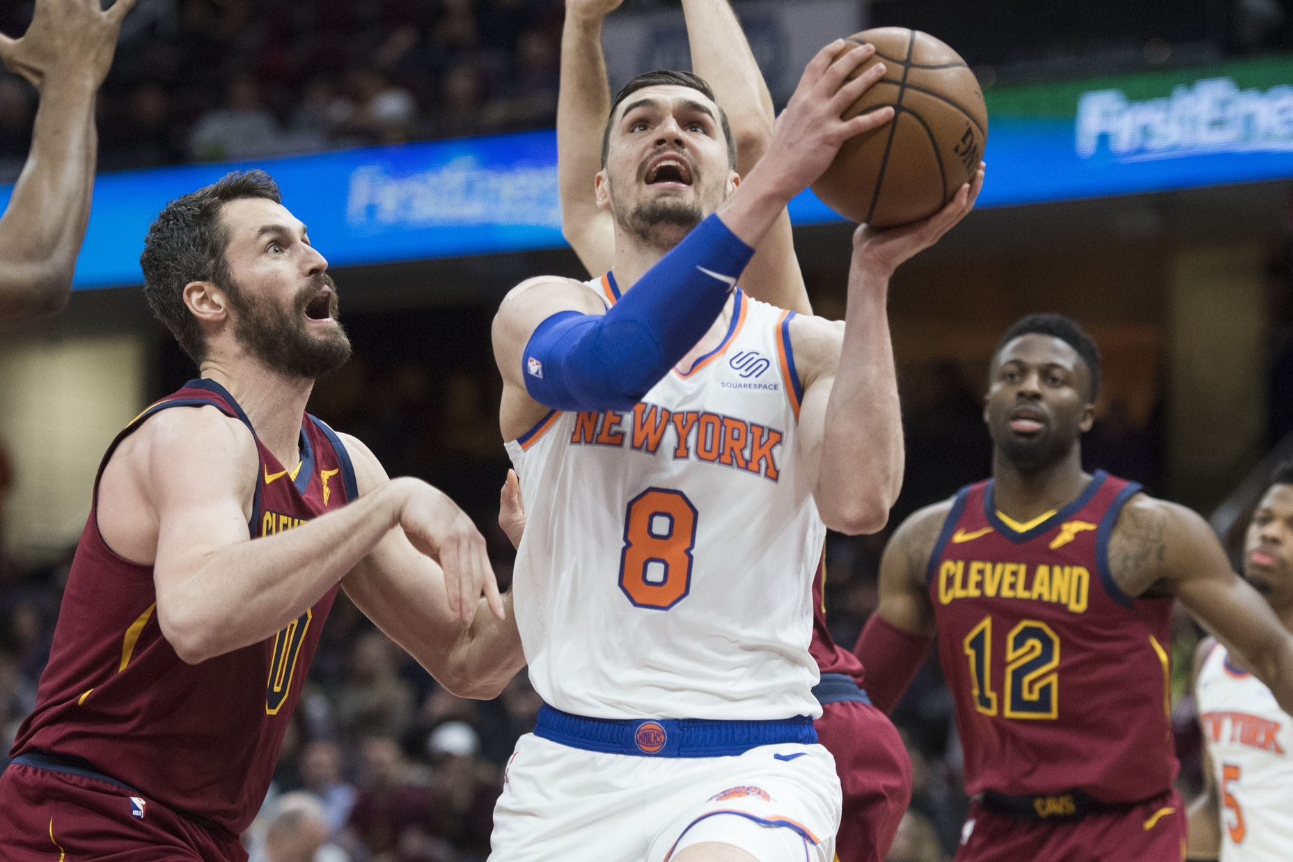 WATCH  Knicks  Mario Hezonja with absolutely monster dunk be09fde14