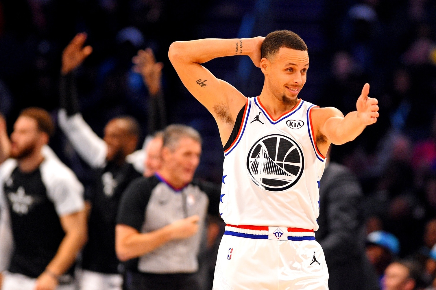 Steph Curry reveals bet against Seth in 3-point contest