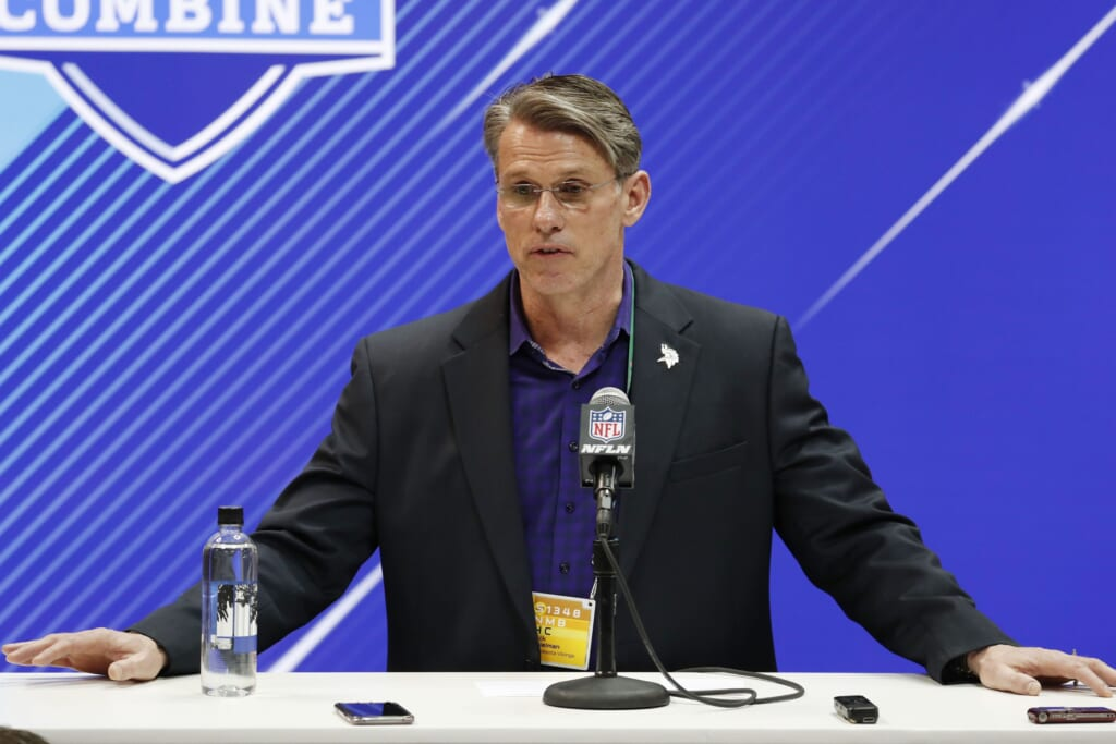 Should Rick Spielman have acquired a better QB by now?