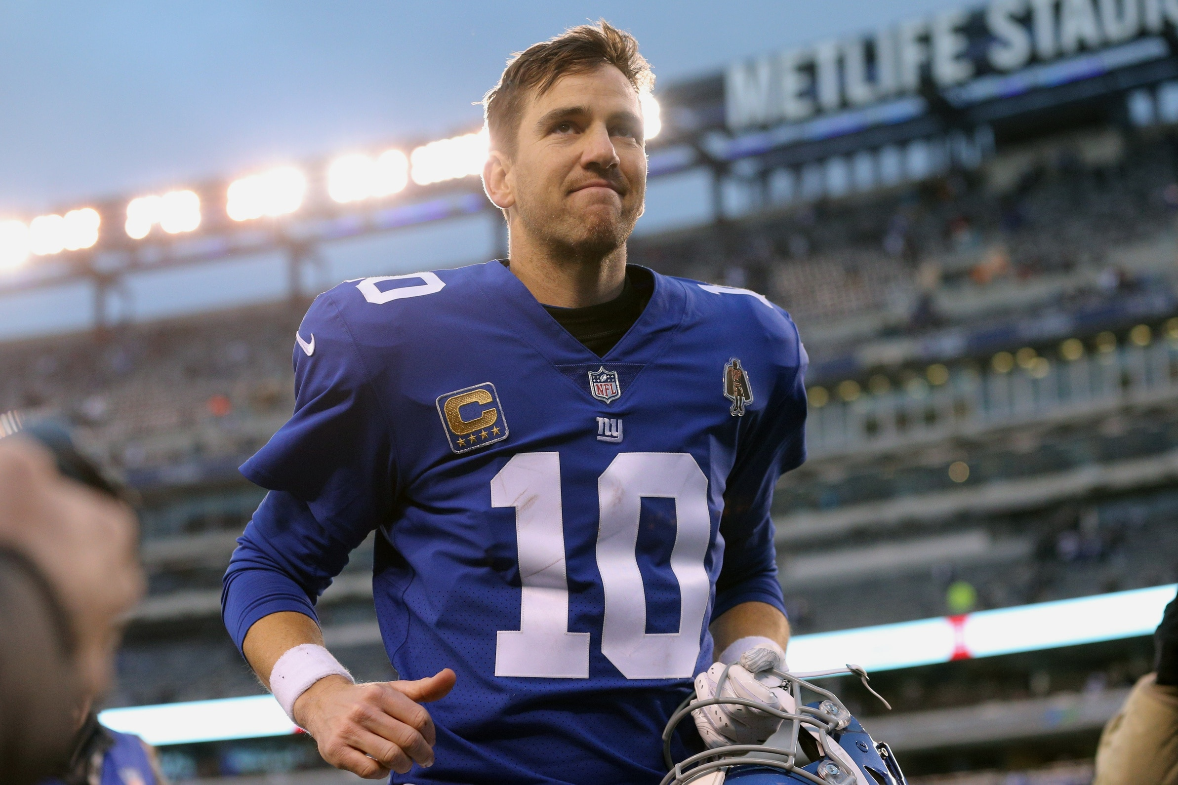 huge selection of f6b3c 415cd Report: Daniel Jones and Eli Manning 'not a real competition ...