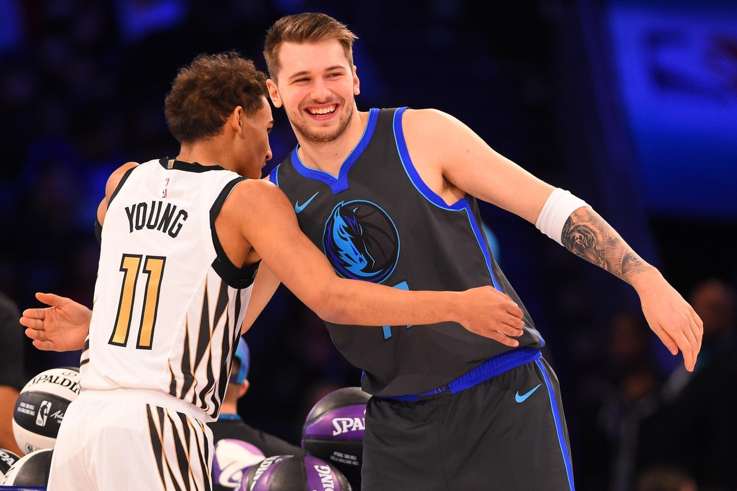 dd8e32afaf9 Luka Doncic, Trae Young headline 2018-19 NBA All-Rookie teams