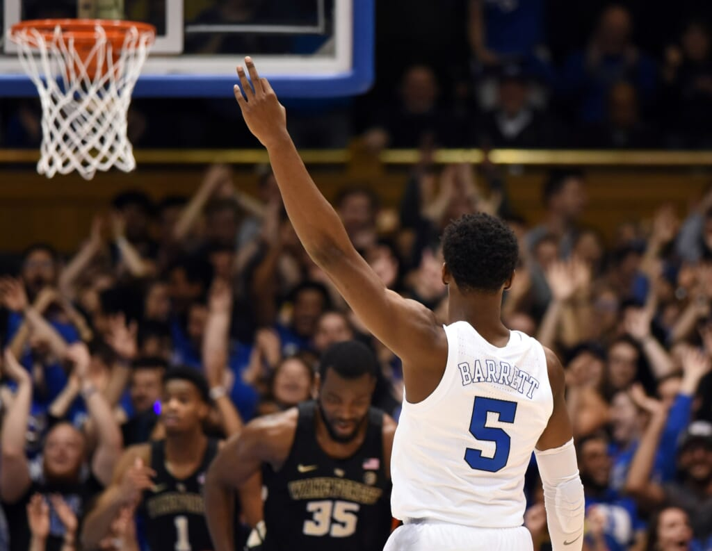 WATCH: Duke barely escapes home upset against Wake Forest