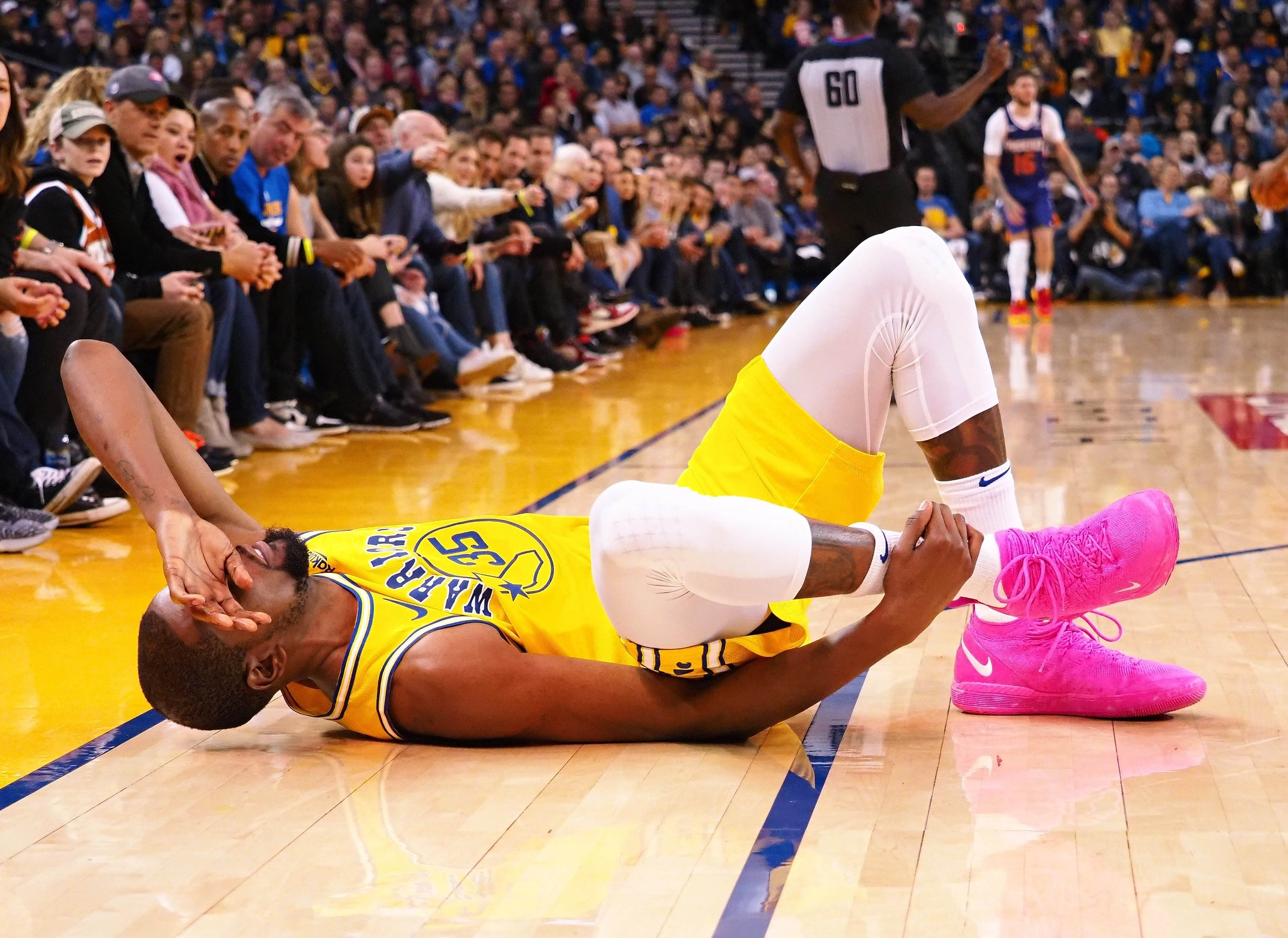 d551adf27c6 Kevin Durant ankle injury not serious