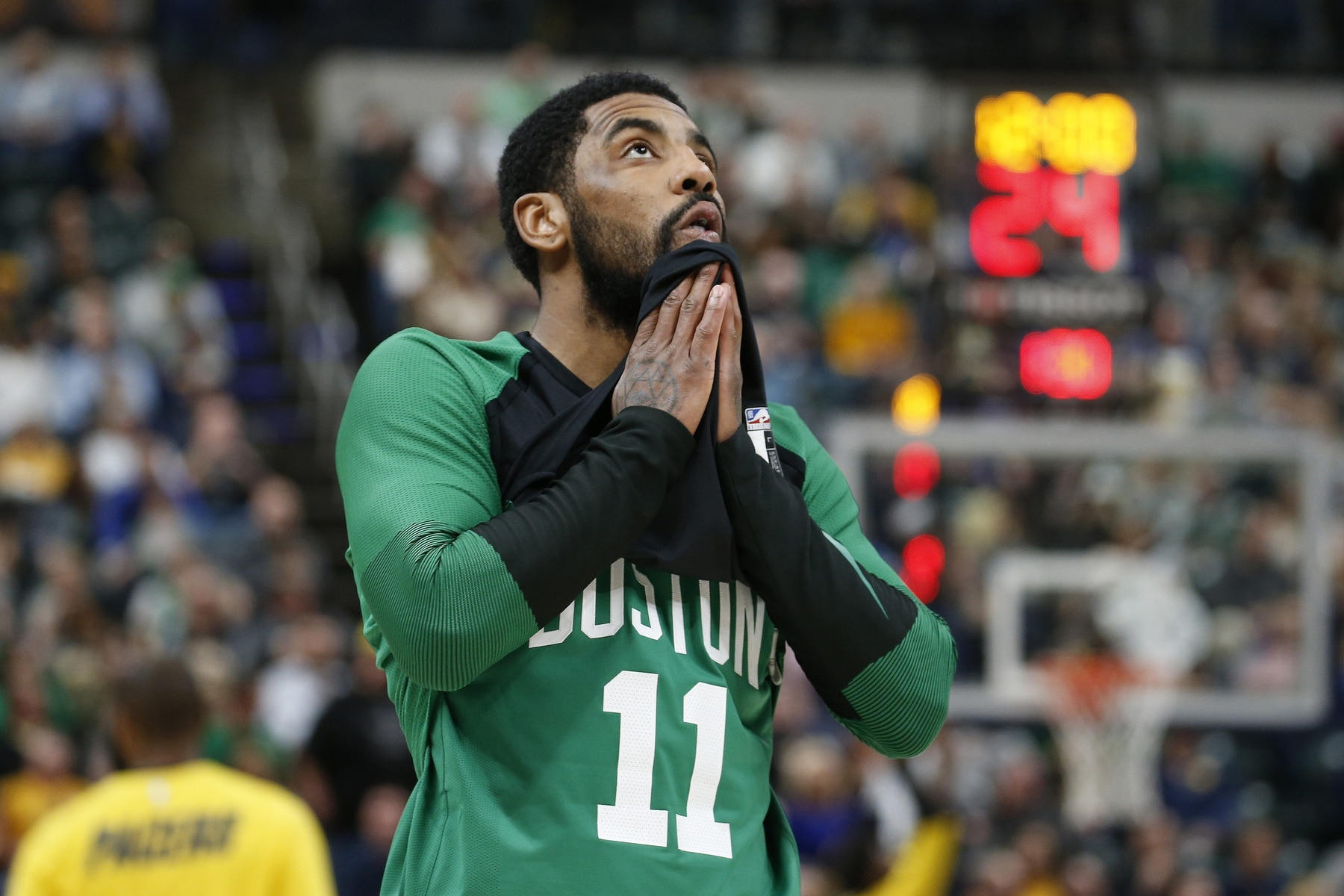 new arrival 9b978 bc430 Kyrie Irving seems to question his own professionalism amid Celtics  drama
