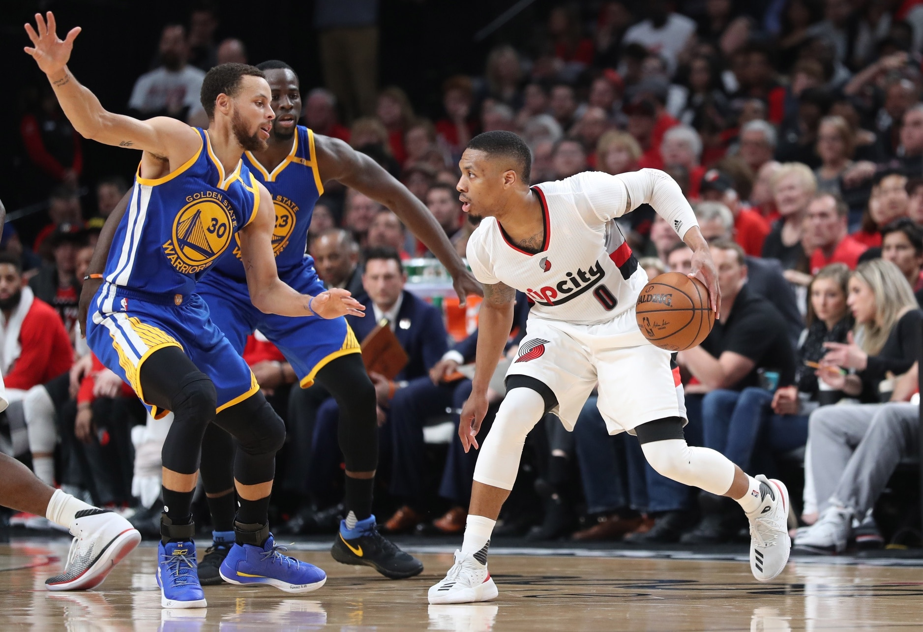 19970eb736a Bold predictions for Blazers-Warriors Game 1