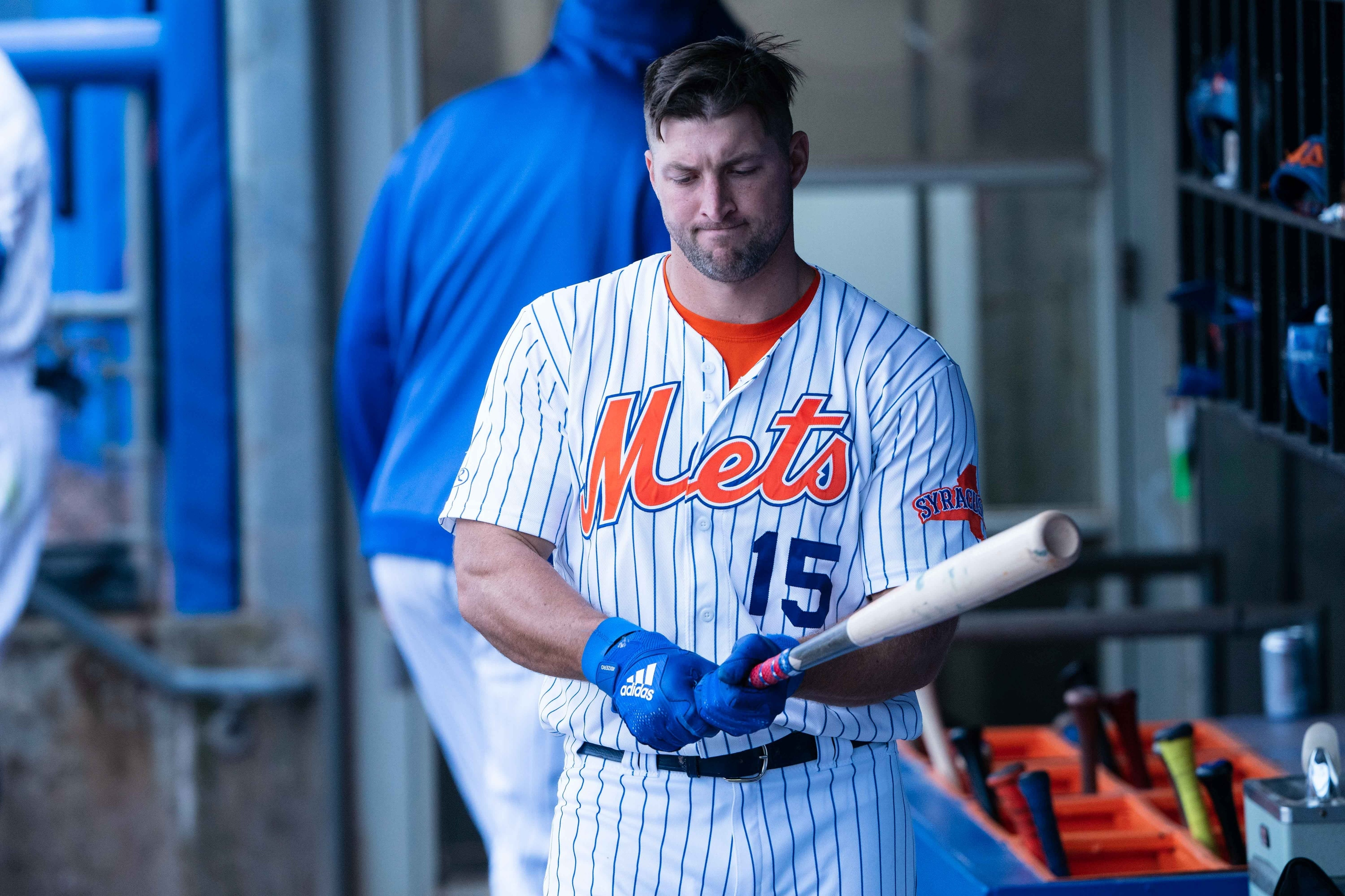 sports shoes fcad4 22579 Tim Tebow: Mets must admit experiment is a failure