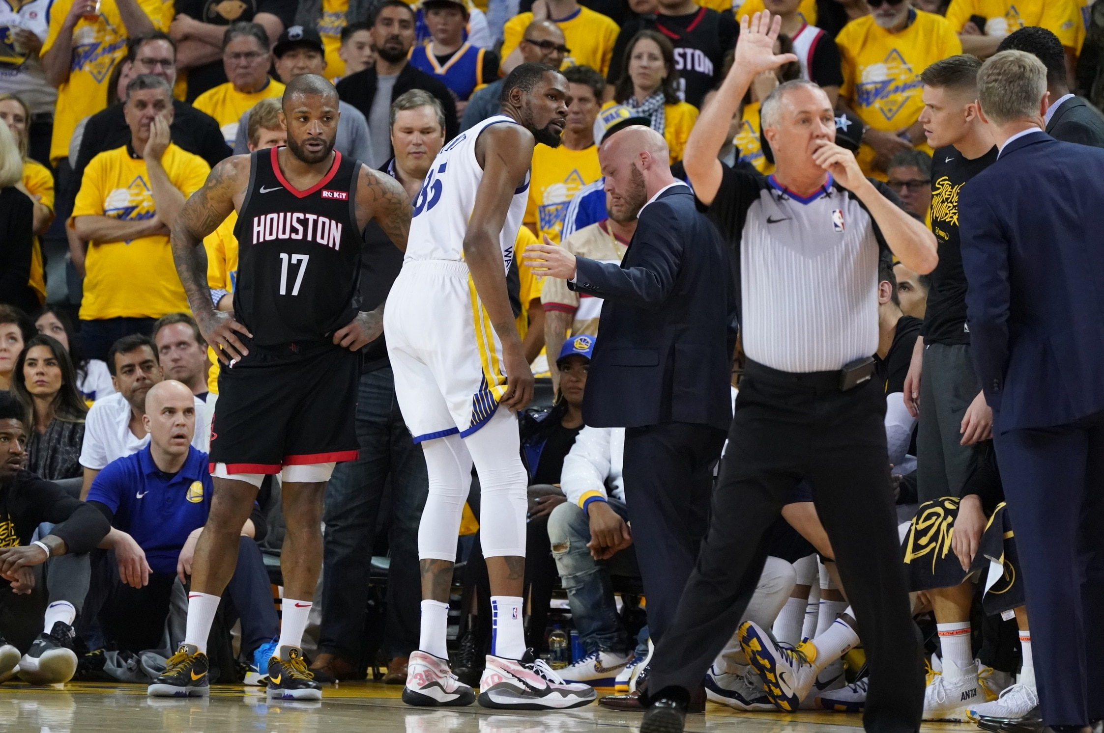 ed56a8175f5 Kevin Durant injury and other takeaways from Rockets-Warriors
