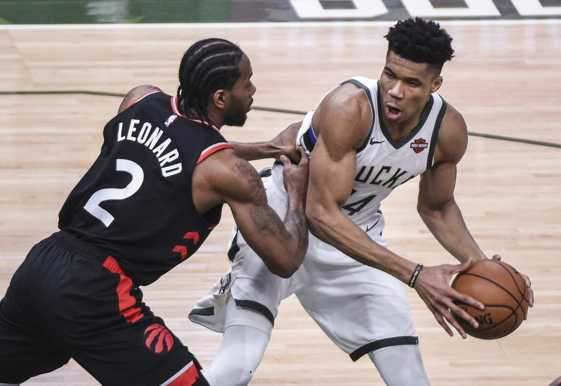 Bucks rally to beat Raptors in Game One