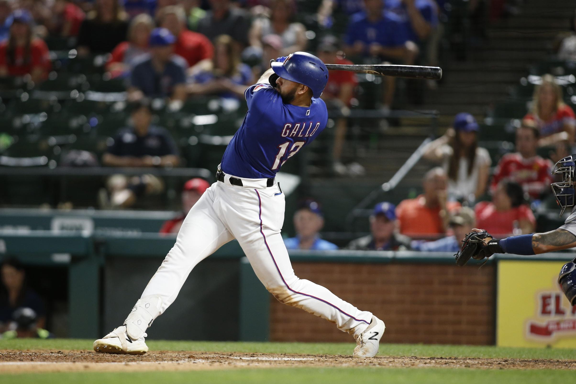 WATCH: Rangers' Joey Gallo unleashes 457-foot grand slam
