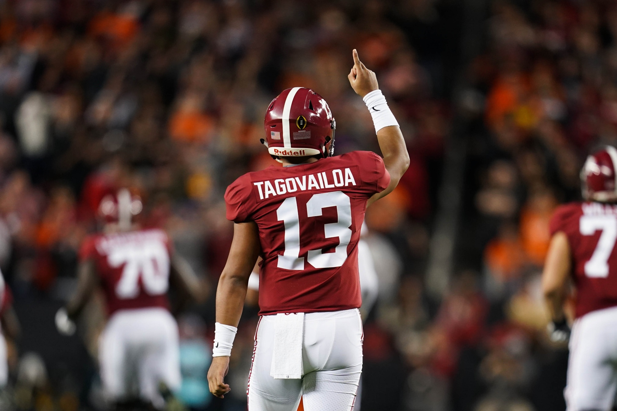 Tua Tagovailoa still favored to be No. 1 pick in 2020 NFL Draft