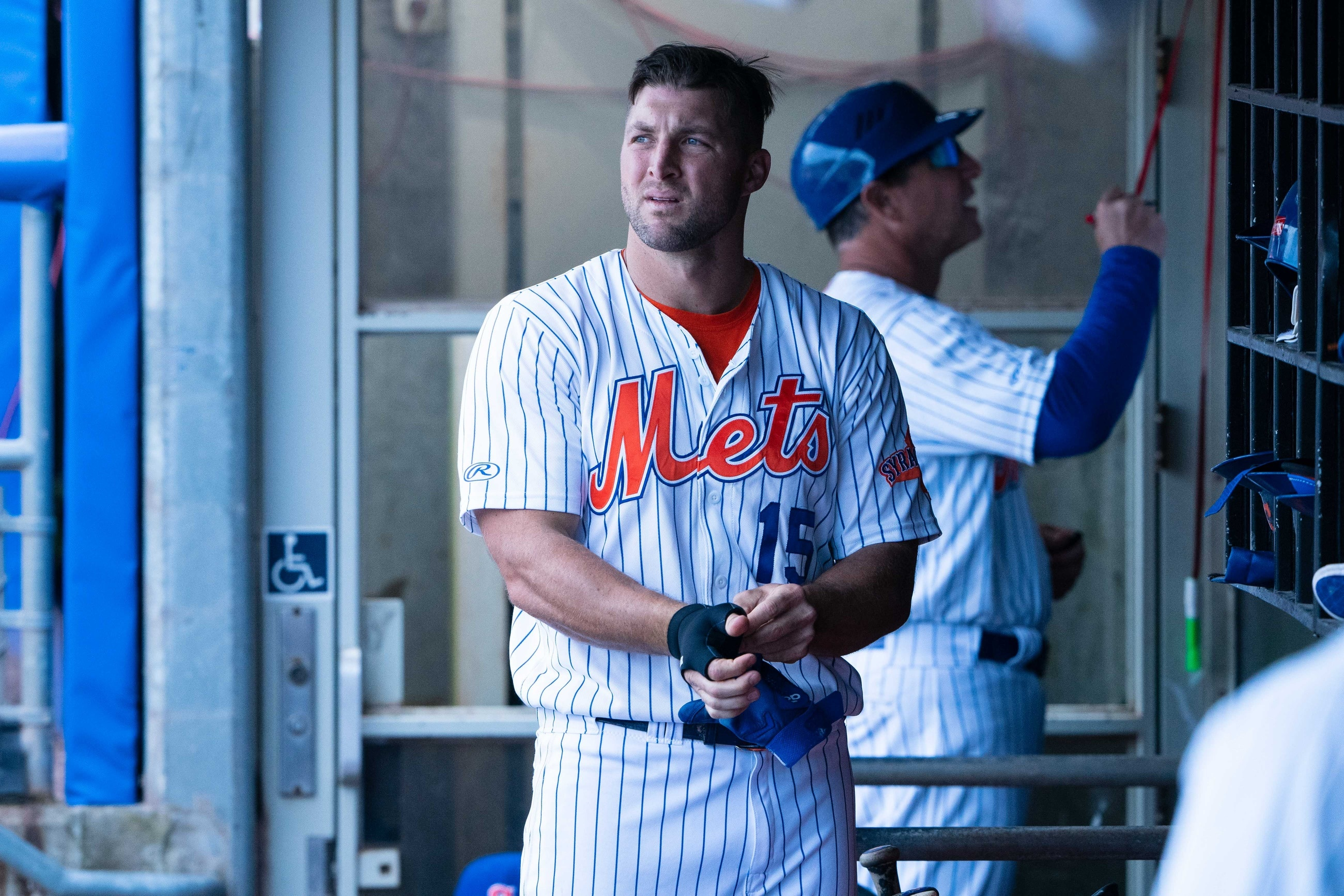 Report: Finger injury ends Tim Tebow's minor-league season