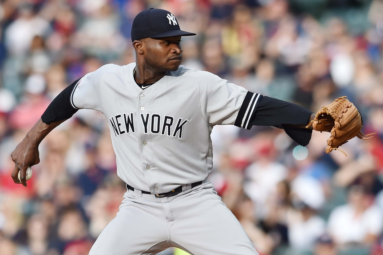 New York Yankees RHP Domingo German placed on administrative leave