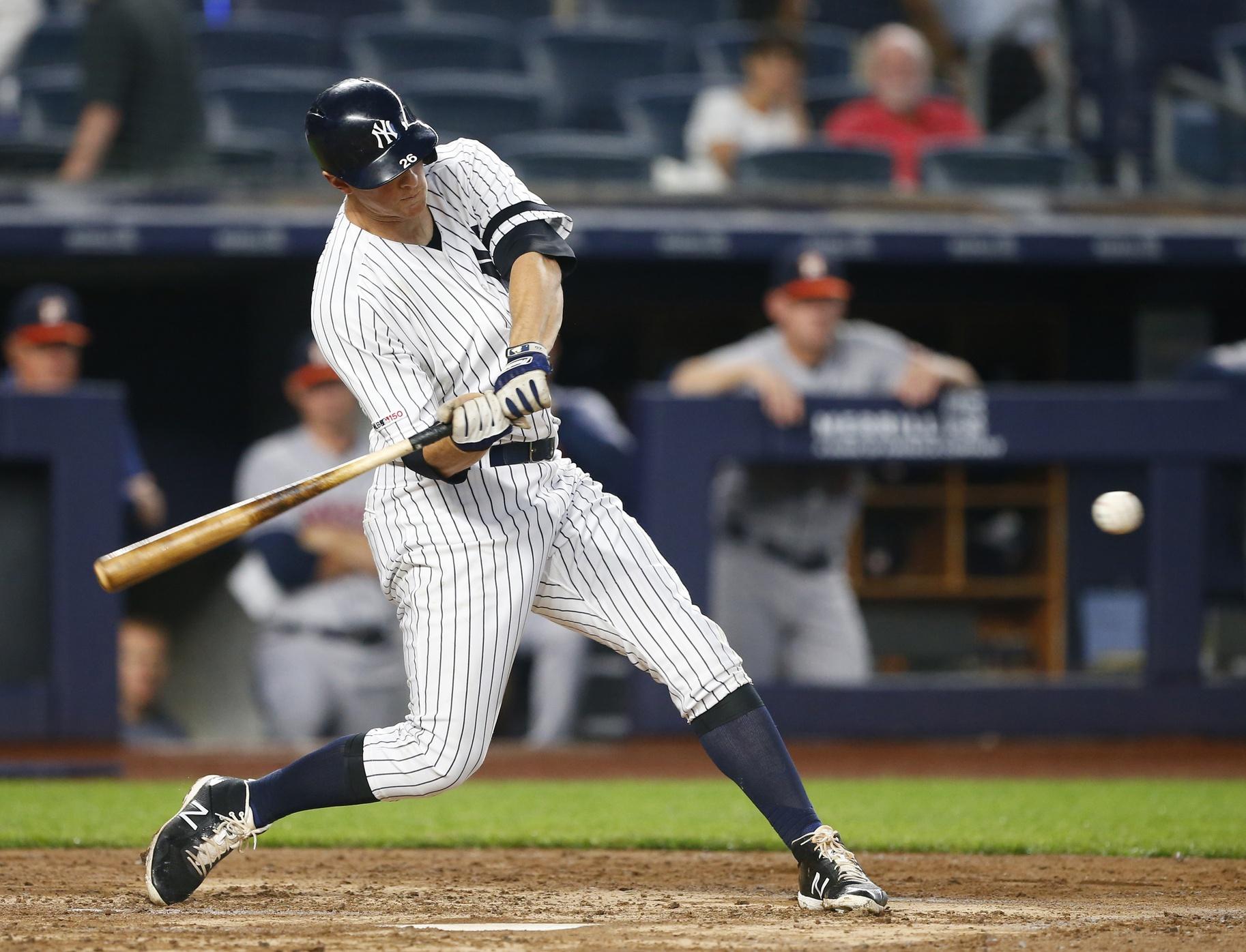 WATCH: DJ LeMahieu smashes home run; Yankees on verge of ...