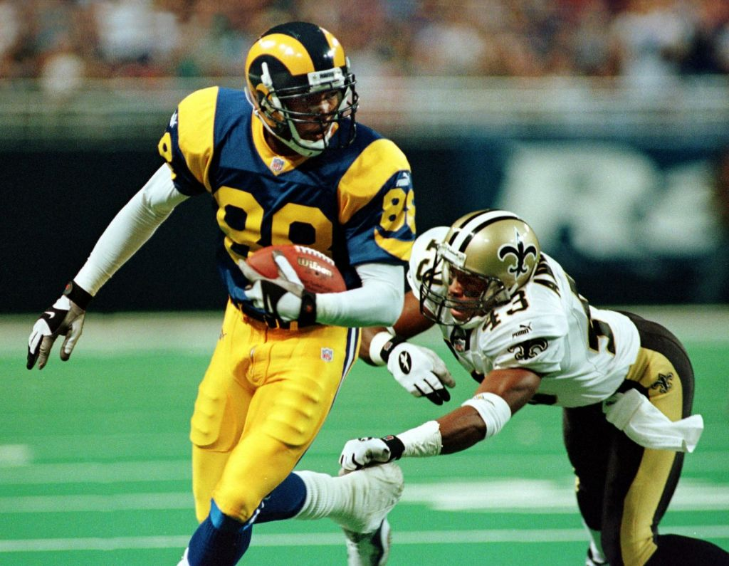 Pro football Hall of Famer snub Torry Holt