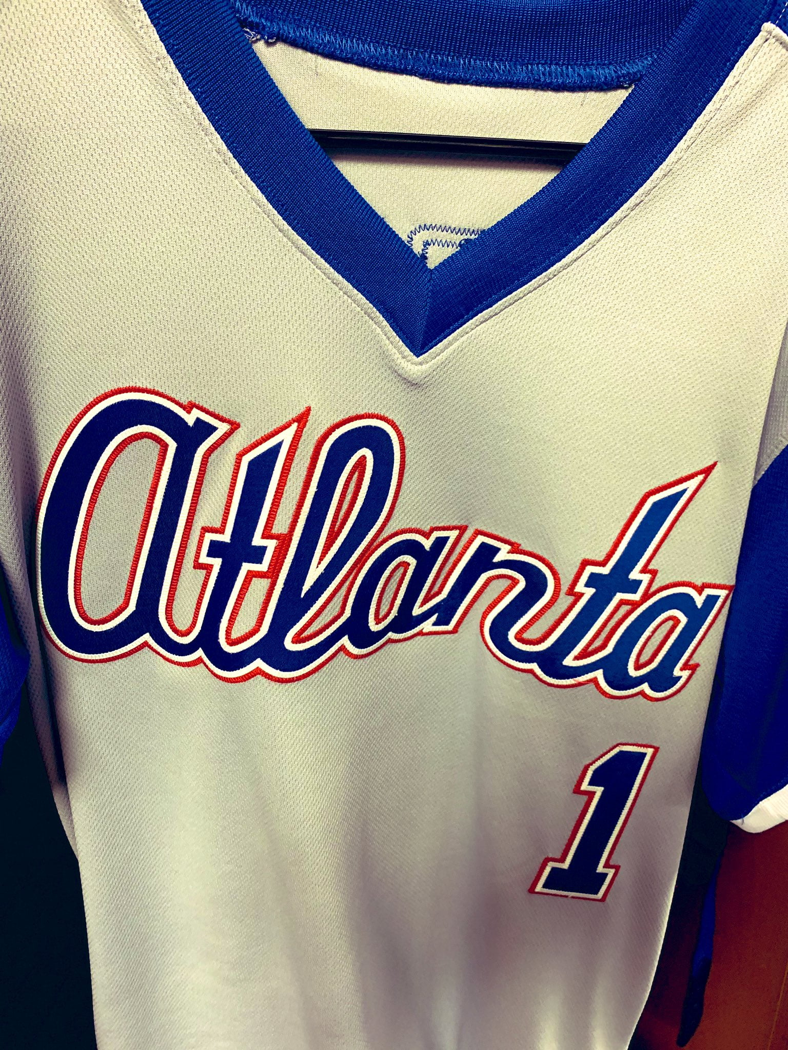 online store 32606 8ab2f LOOK: Braves rocking some awesome 1979 throwbacks Saturday