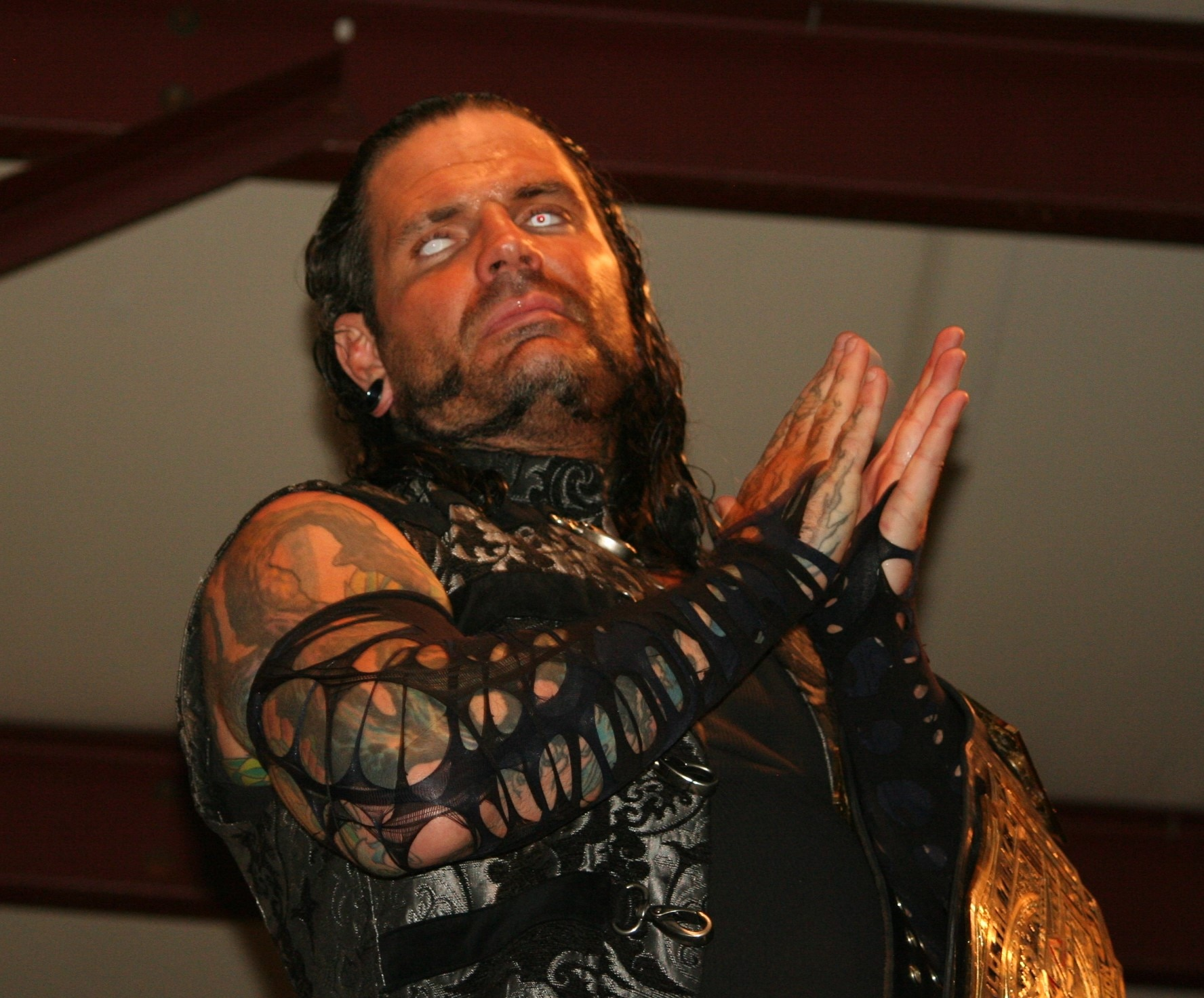 WWE star Jeff Hardy arrested for public intoxication in