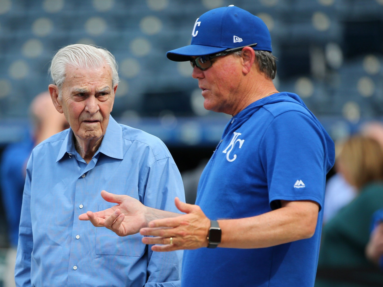 Royals owner negotiating sale of the team for more than $1B