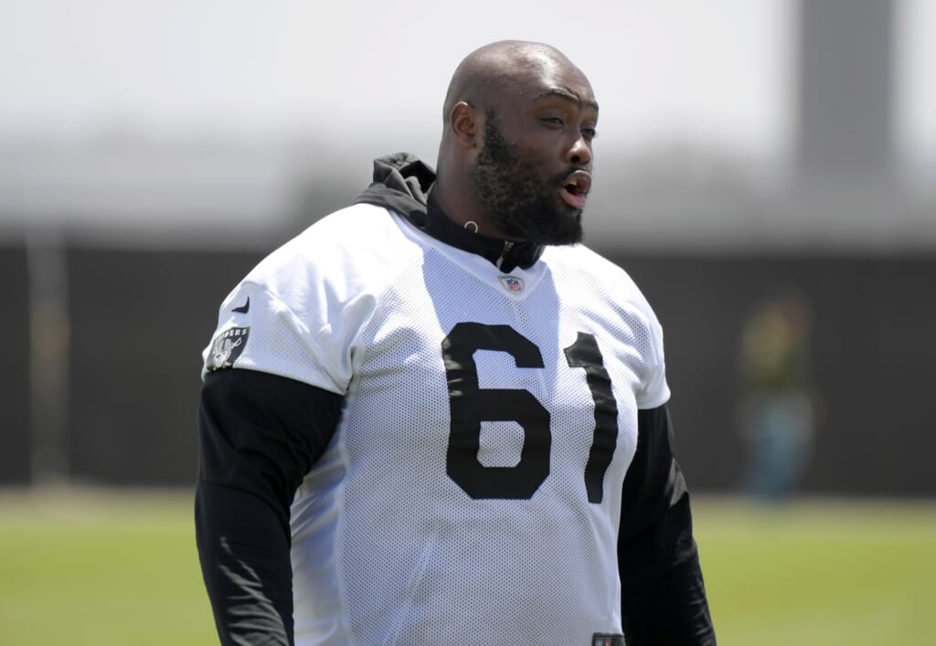 Las Vegas Raiders release Rodney Hudson
