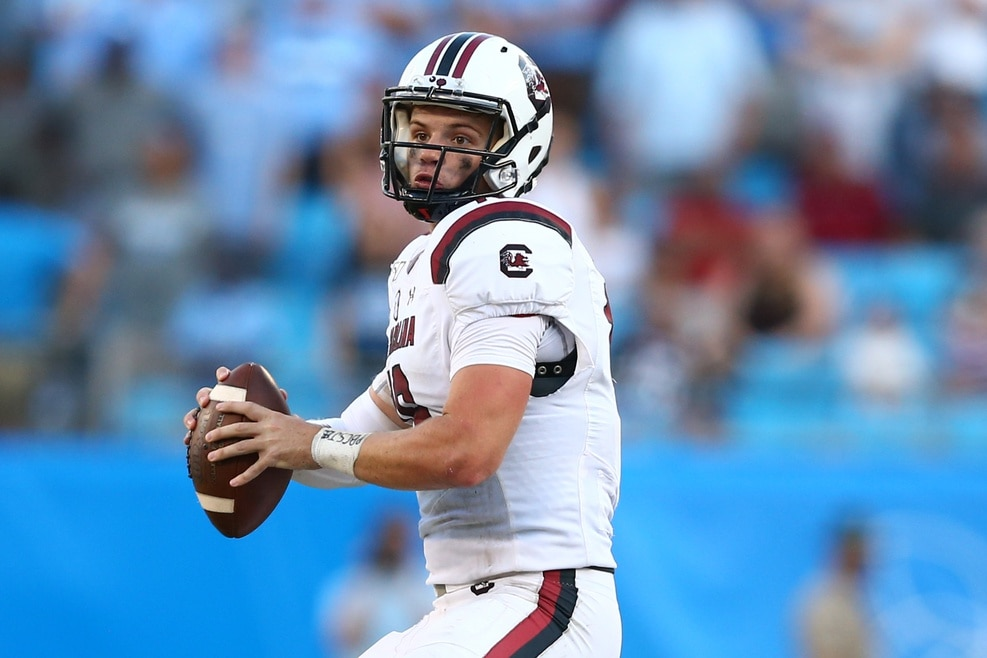 South Carolina Freshman Ryan Hilinski Will Take Over as Quarterback