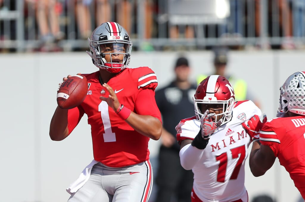 Justin Fields' on-field processing is underrated