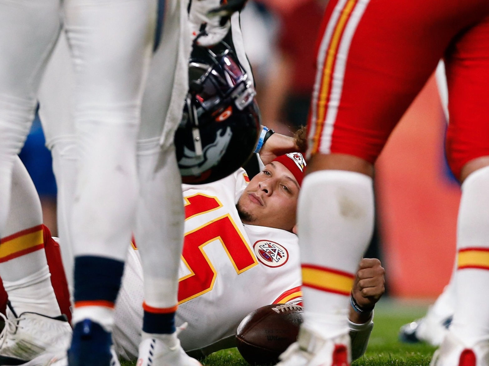 Video Shows Gruesome Extent Of Patrick Mahomes Injury