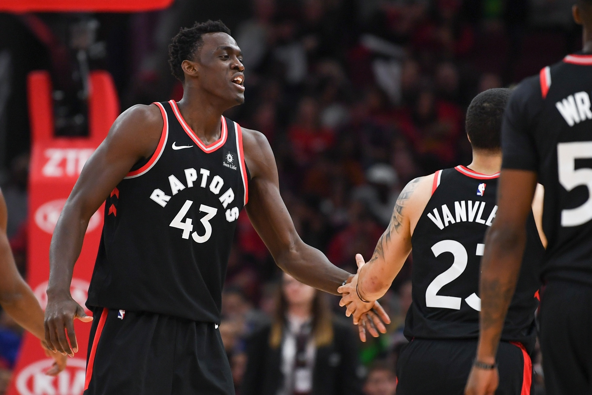 Watch Pascal Siakam Loses It When Fred Vanvleet Was Asked