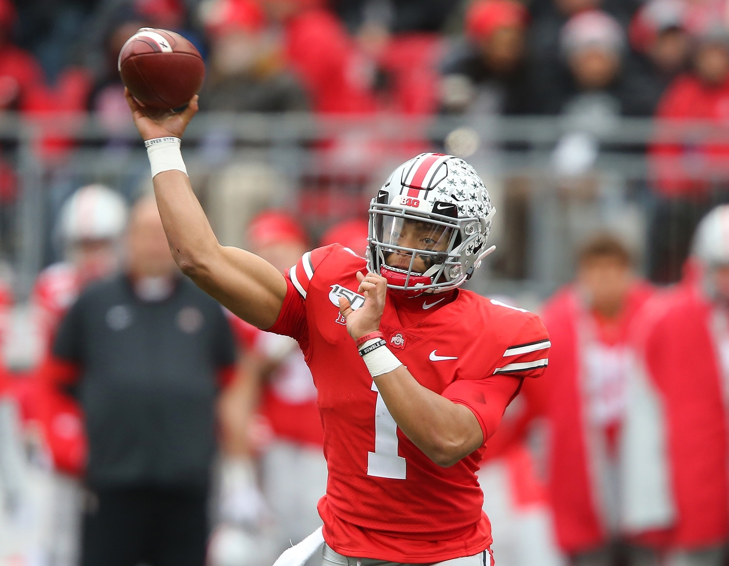 Ohio State Football Justin Fields Must Take Giant Leap To Take Buckeyes To CFB Playoff