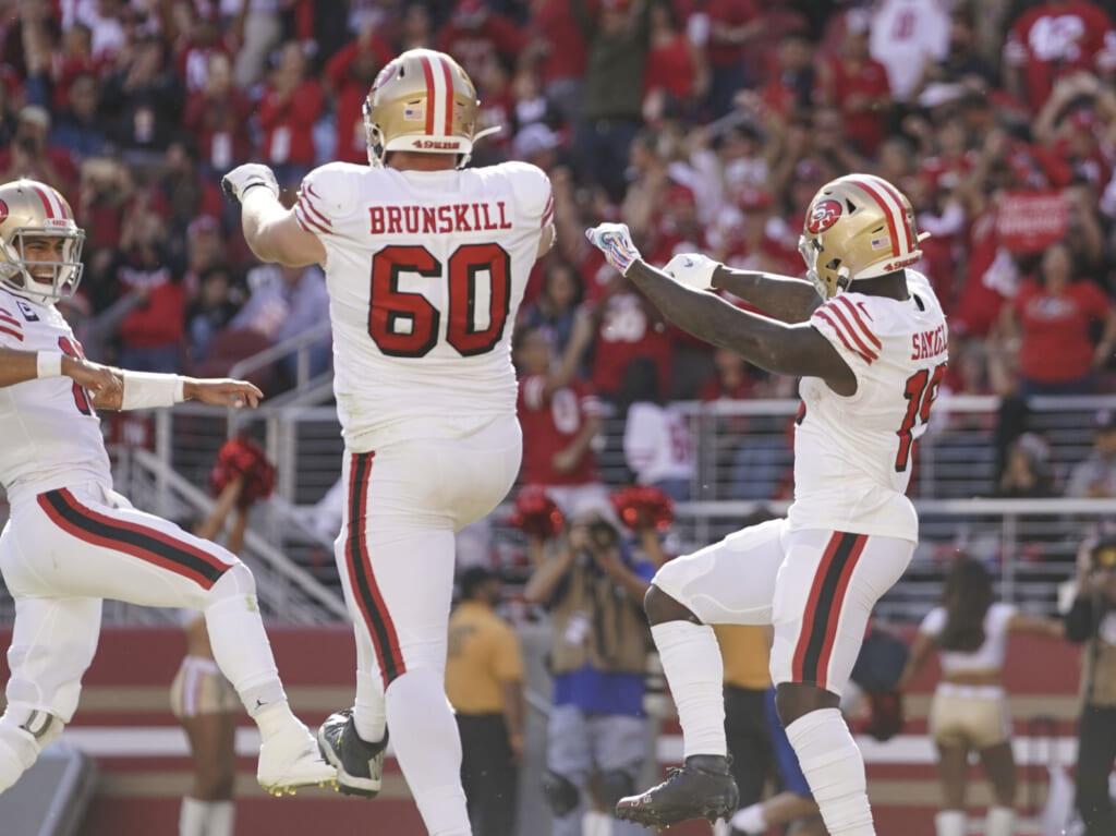 49ers throwback uniforms